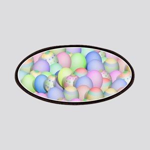 Pastel Colored Easter Eggs Patch