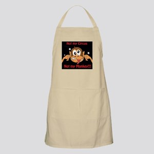Not My Monkey Apron