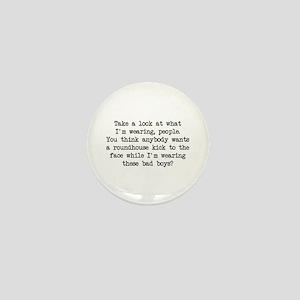 What I'm Wearing (Blk) - Napoleon Mini Button