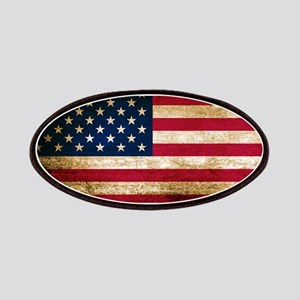 Vintage Fade American Flag Patch