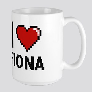 I Love Fiona Mugs