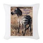 BigAsslogo2 Woven Throw Pillow