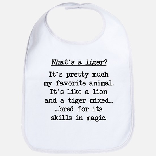 What's a Liger (blk) - Napoleon Bib