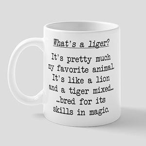 What's a Liger (blk) - Napoleon Mug