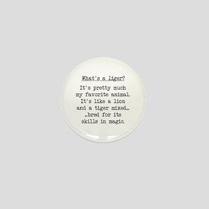 What's a Liger (blk) - Napoleon Mini Button