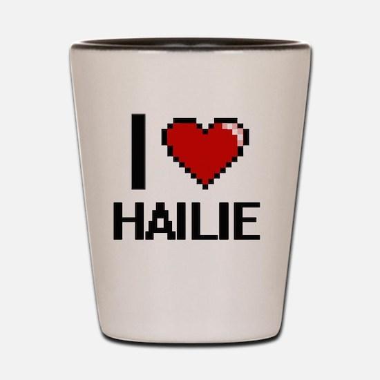 Cool Hailie Shot Glass
