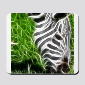 Abstract Zebra Mousepad