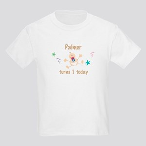 Palmer turns 1 today Kids Light T-Shirt