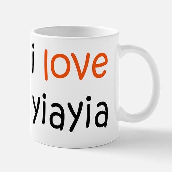 I Love Yiayia Mug