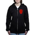 28th Infantry Women's Zip Hoodie