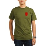 28th Infantry Organic Men's T-Shirt (dark)