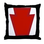 28th Infantry Throw Pillow