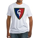 38th Infantry Fitted T-Shirt