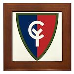 38th Infantry Framed Tile