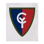 38th Infantry Throw Blanket