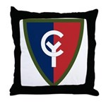 38th Infantry Throw Pillow