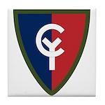 38th Infantry Tile Coaster