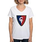 38th Infantry Women's V-Neck T-Shirt