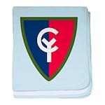 38th Infantry baby blanket