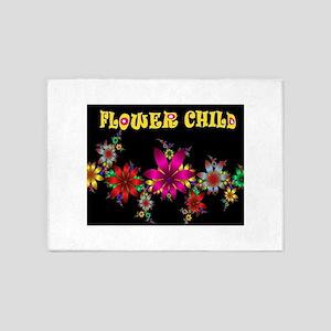 FLOWER CHILD 5'x7'Area Rug