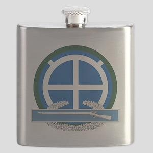 35th Infantry CIB Flask