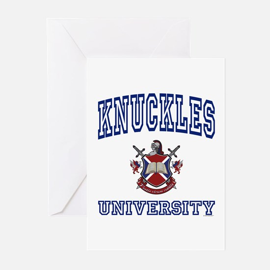 KNUCKLES University Greeting Cards (Pk of 10)