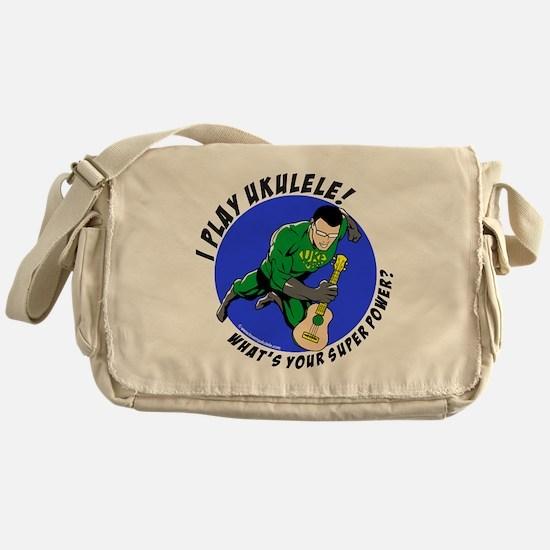 Cute Ukelele Messenger Bag