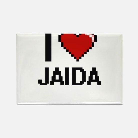 I Love Jaida Magnets