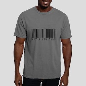 Civil Engineer Barcode T-Shirt