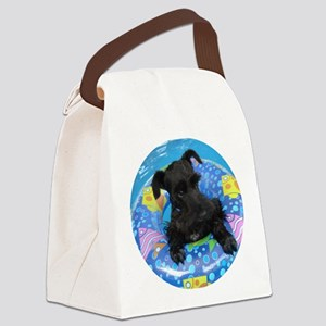 AtticusSwimRound Canvas Lunch Bag