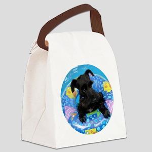 AtticusSwimRound Canvas Lunch Bag