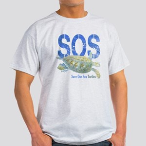 SOS Save Our Sea Turtles T-Shirt