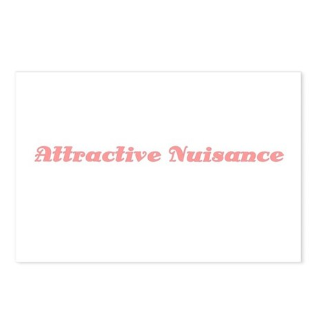 Attractive Nuiscance Postcards (Package of 8)