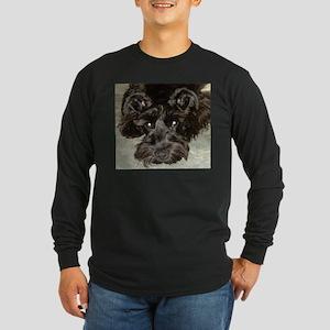 atticussquareface Long Sleeve T-Shirt