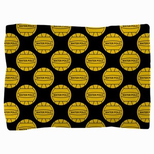 Water Polo Balls Pillow Sham