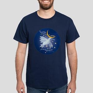 'Bird / Faith' Blue Shirt