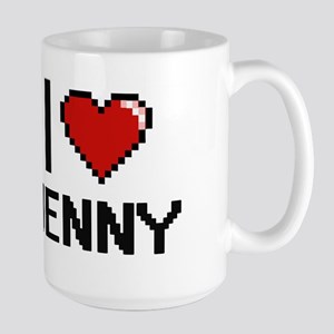 I Love Jenny Mugs