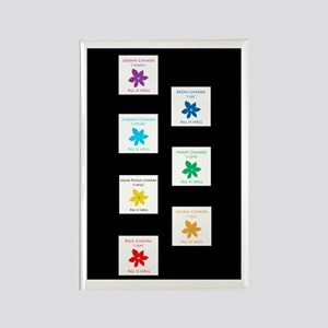 All Is Well Chakra Balancing B Rectangle Magnet