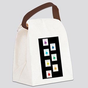 All Is Well Chakra Balancing B Canvas Lunch Bag