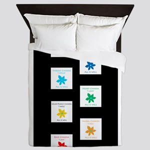 All Is Well Chakra Balancing B Queen Duvet