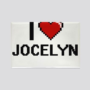 I Love Jocelyn Magnets