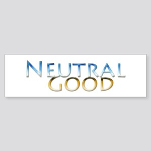 Neutral Good Bumper Sticker