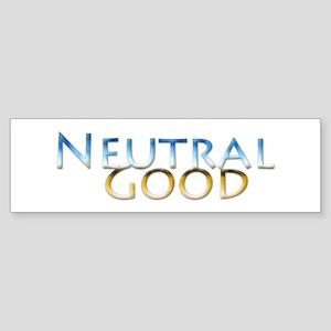 Neutral Good Bumper Sticker