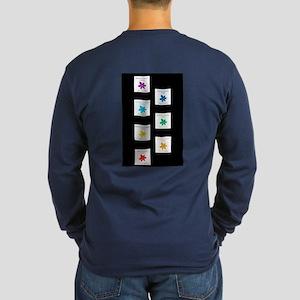 All Is Well Chakra Balanc Long Sleeve Dark T-Shirt