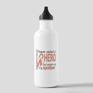 Uterine Cancer HeavenN Stainless Water Bottle 1.0L