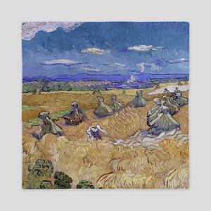 Vincent Van Gogh Wheat Stacks With Reaper Queen Du