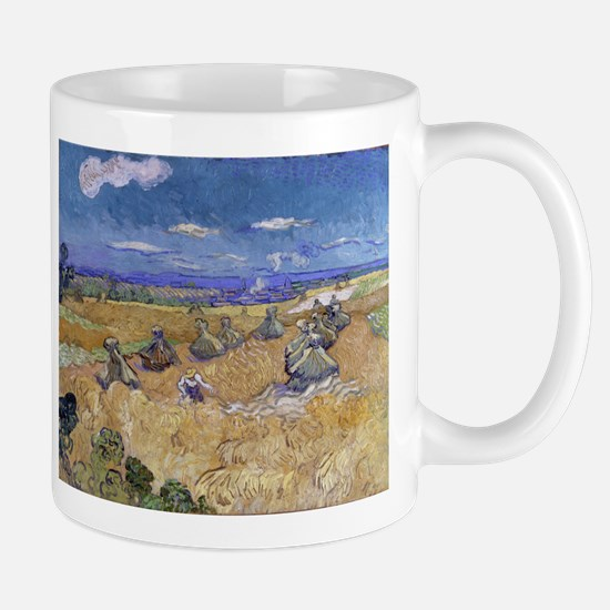 Vincent Van Gogh Wheat Stacks With Reaper Mugs