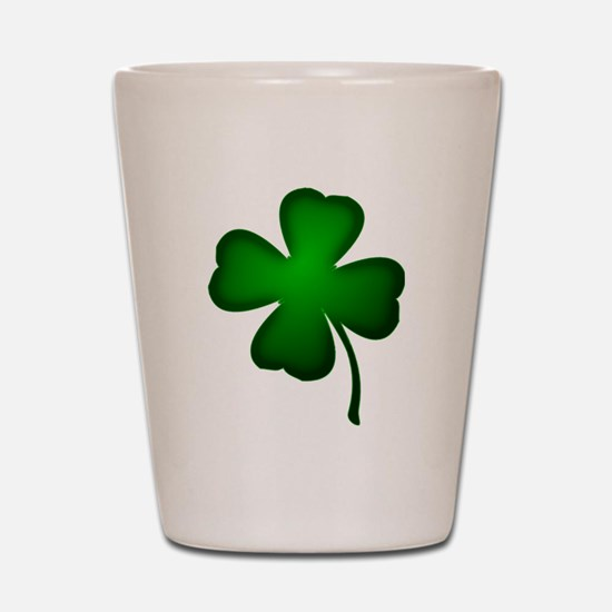 Four Leaf Clover Shot Glass