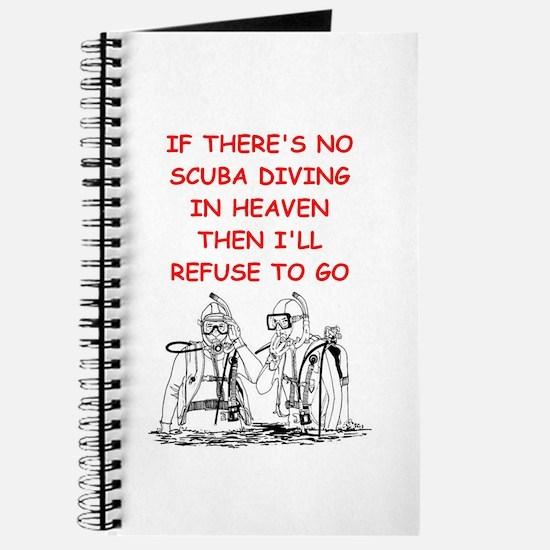 scuba diving Journal