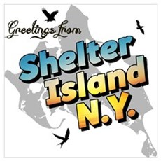 Shelter Island New York NY Long Island Poster